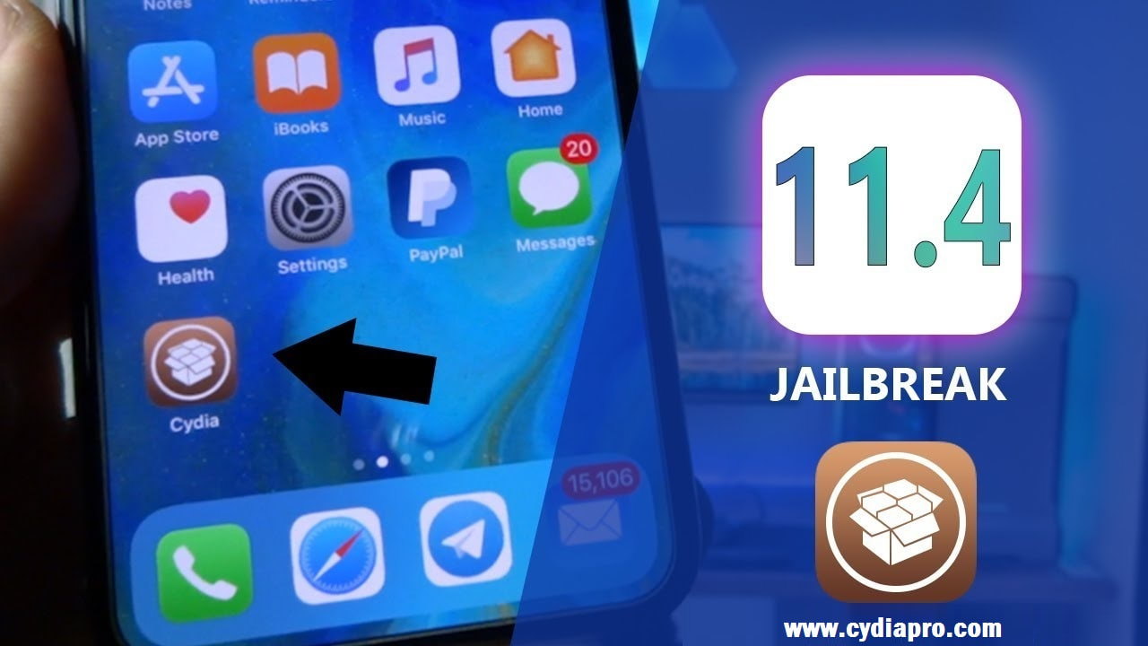 Cydia on iOS 11.4